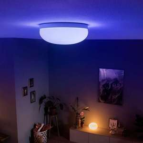 Philips Hue White and color ambiance Flourish LED Deckenleuchte Ø 35,9 cm