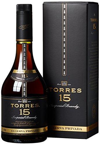 Torres 15 Imperial Brandy Reserva Privada (0,7l 40%) bei [Amazon] mit Prime für