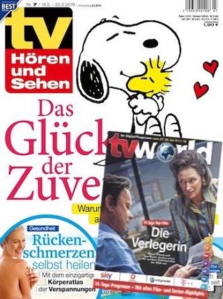 tv Hören und Sehen mit tv world  Abo (52 Ausgaben) für 125,00 € mit 120 € BestChoice Universalgutschein