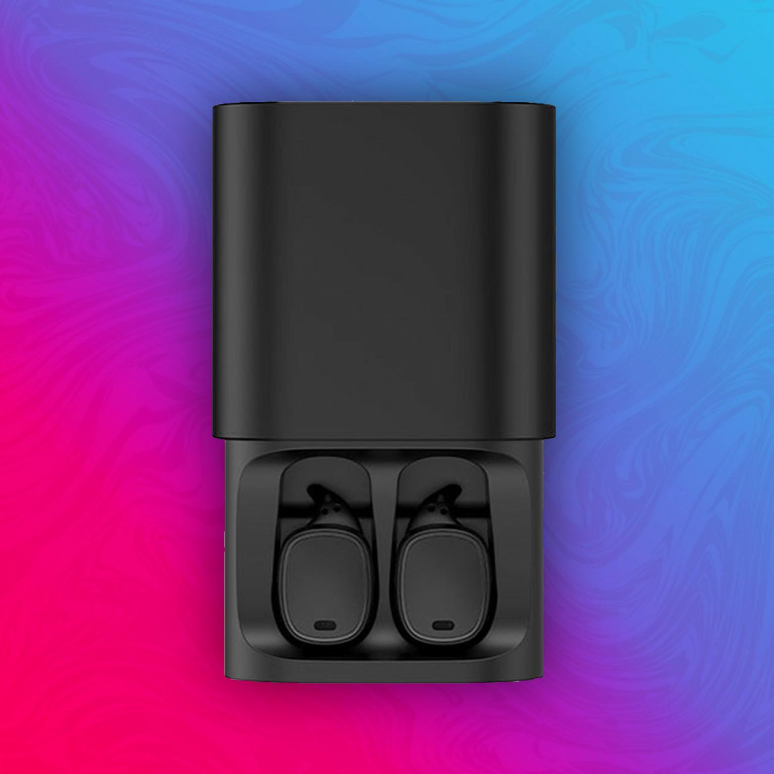 QCY T1 Pro - BT 4.2 Kopfhörer - iPX4 - 3D Stereo - 750mAh Ladebox - WiFi Synchronisation
