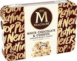 Magnum Eis, Yoghurt & Raspberry (4 x 110ml) oder White Chocolate & Cookies (4 x 90ml) für 1,88 Euro [Penny]
