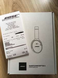 [Lokal: Bose Store] Bose Quiet Comfort QC35 Series II (Neuware umverpackt / Factory Re-newed)