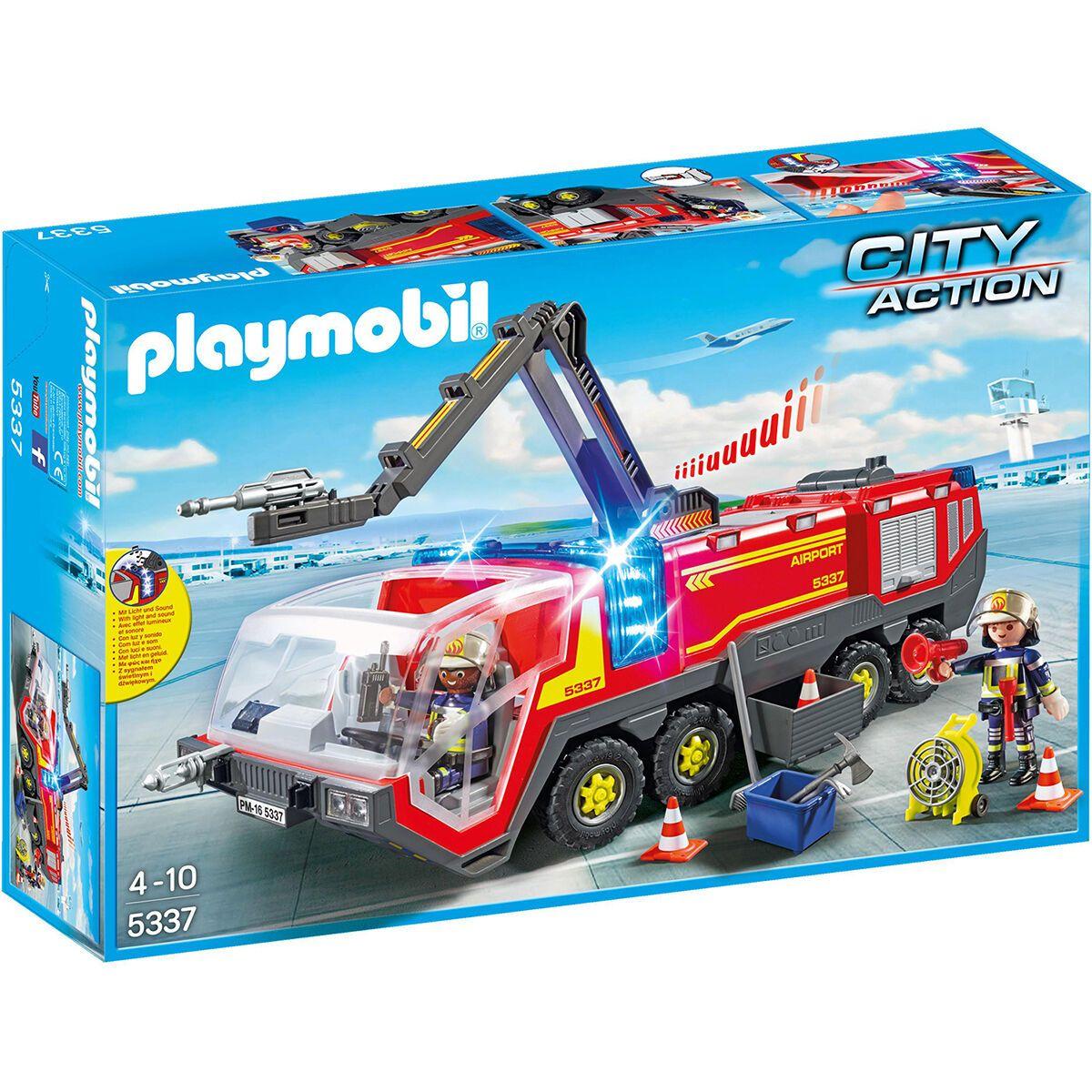 PLAYMOBIL® City Action Flughafenlöschfahrzeug mit Licht und Sound [Karstadt Abholung]