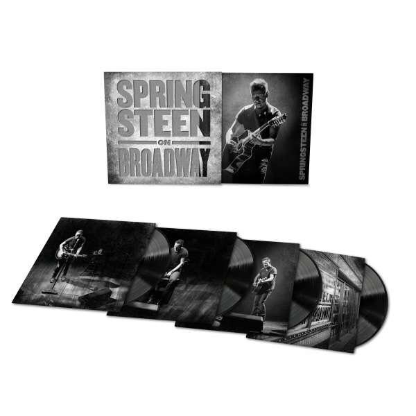 [Vinyl] Bruce Springsteen - Springsteen on Broadway (4fach-Vinyl) inkl. Audiorip
