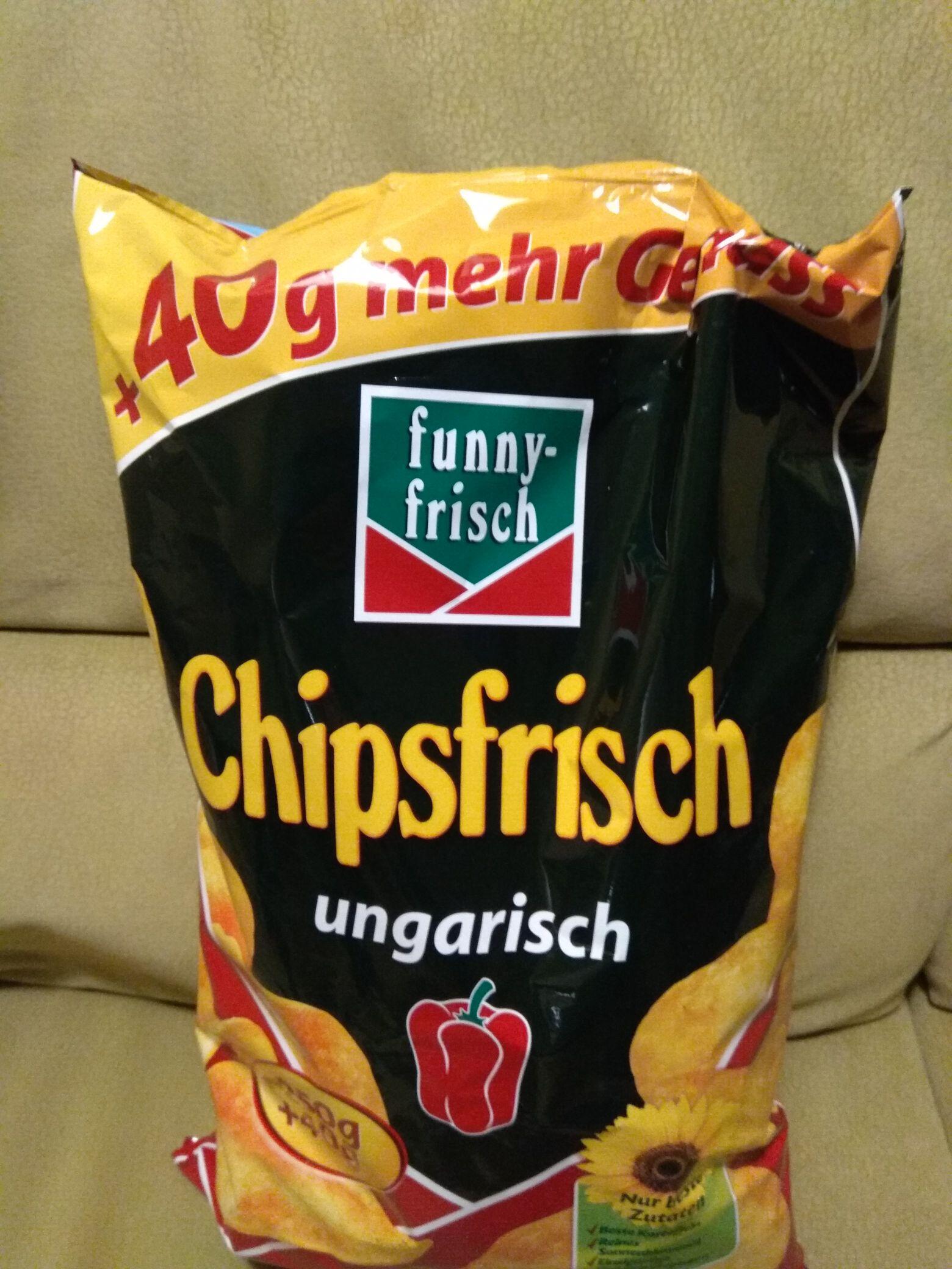 Funny-frisch chips ungarisch 290 Gramm