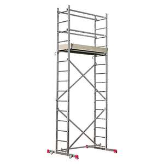 Krause Corda Montagegerüst - bis 5m Arbeitshöhe - Bauhaus TPG