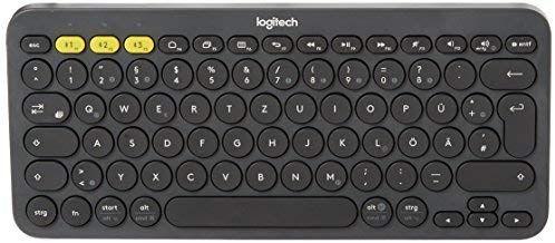 Logitech K380 Bluetooth-Tastatur für Windows, Mac, Chrome und Android dunkelgrau [Amazon Prime]