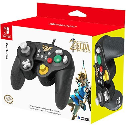 HORI Nintendo Switch Battle Pad Controller (Zelda) für 18,09€ (Amazon FR)