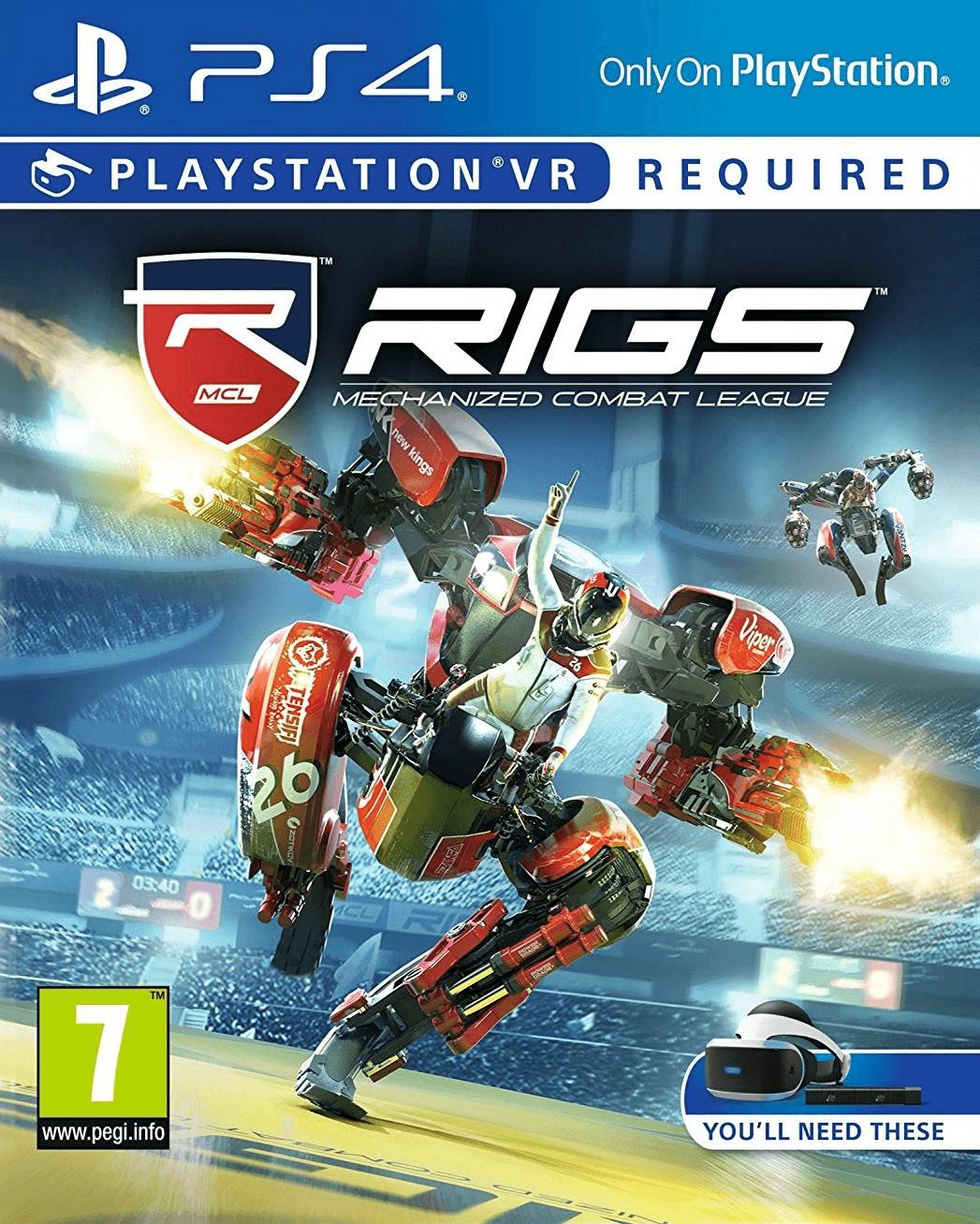RIGS: Mechanized Combat League (PS4-VR) für 8,76€ (ShopTo)