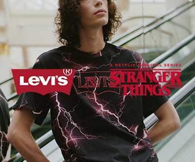 Levis 50% auf ausgewählte Styles