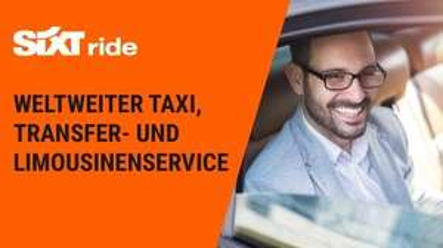 10€ Taxi Gutschein (Sixt) - auch Bestandskunden (1x pro Account)