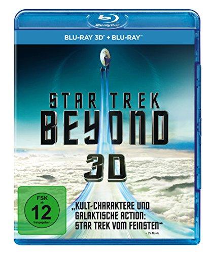 Star Trek: Beyond 3D (Blu-ray 3D + Blu-ray für 8,99€ (Amazon Prime & Saturn & Media Markt)