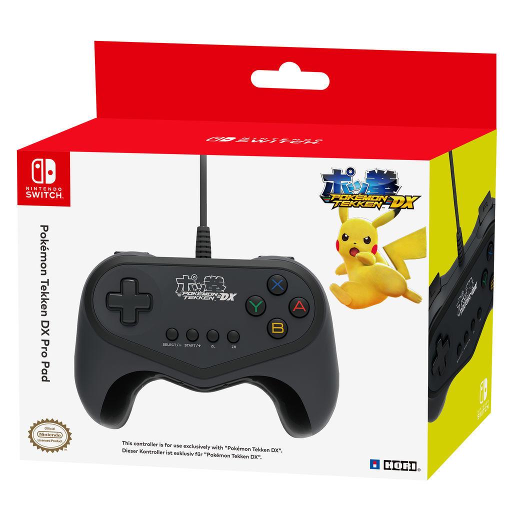 Hori Nintendo Switch Pokémon Tekken DX Pro Pad für 11,99€ (GameStop)