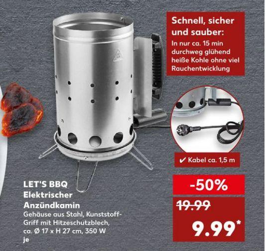 [Kaufland ab 18.07] Elektrischer Anzündkamin-350Watt-1,5 Meter Kabellänge für nur 9,99€