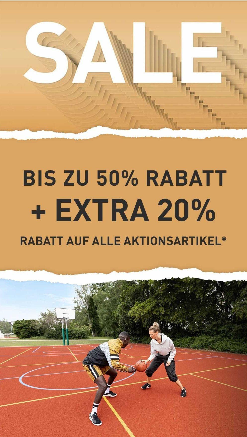 [Puma] Bis zu 50% Rabatt + 20% EXTRA