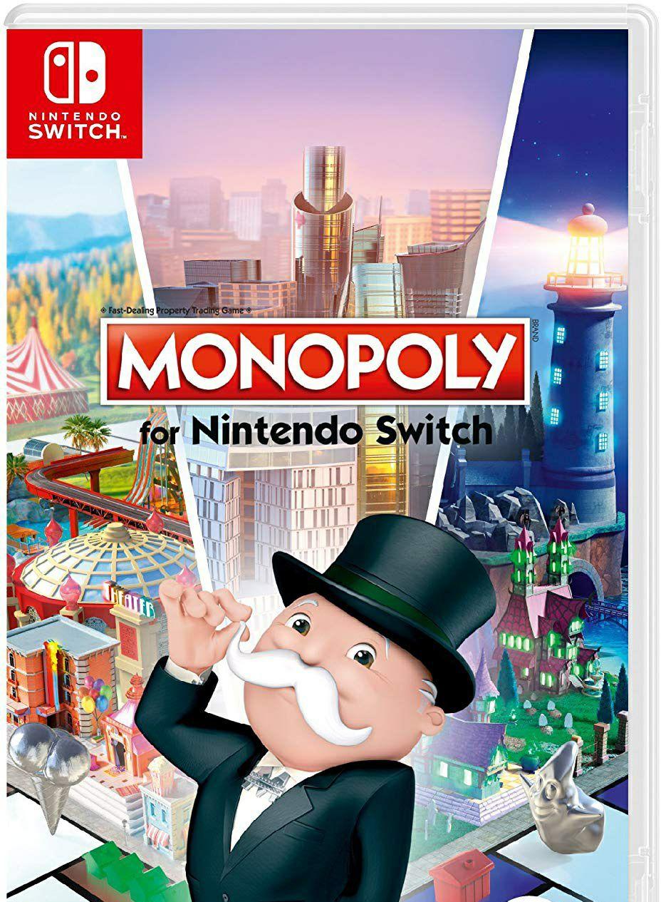 Monopoly für 9.99€ / RISK: The Game of Global Domination oder Trivial Pursuit Live! (Switch) für 7.99€ (Nintendo eShop)