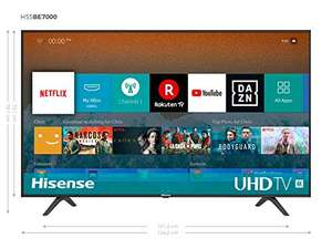 Hisense 55 Zoll 4K Smart TV H55BE7000 bei Amazon