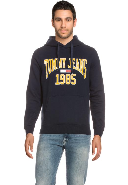 Tommy Jeans Hoodie bzw. Sweater, Regular Fit, 4 Farben, versandkostenfrei - nur heute