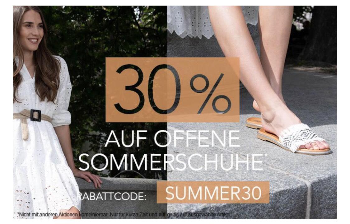 Roland Schuh 30% auf alle Sommer Schuhe