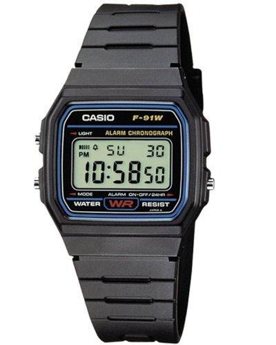 [Amazon] Casio F-91W-1YEF (Unisex-Armbanduhr)