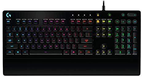 LogitechG213Gaming-Tastatur Prodigy (mit RGB-Hintergrundbeleuchtung [Amazon Prime]