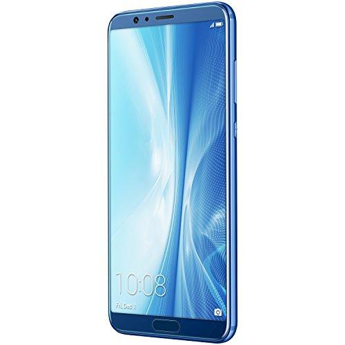 Honor View 10 (15,21 cm (5,99 Zoll) 16+20 MP Hauptkamera, 13 MP Frontkamera, 128 GB Speicher, 6 GB RAM, LTE, Android) /// Blau + Rot