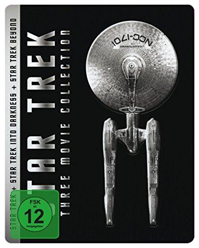 Star Trek - Three Movie Collection Steelbook Limited Edition (Blu-ray) für 14,97€ (Amazon Prime)