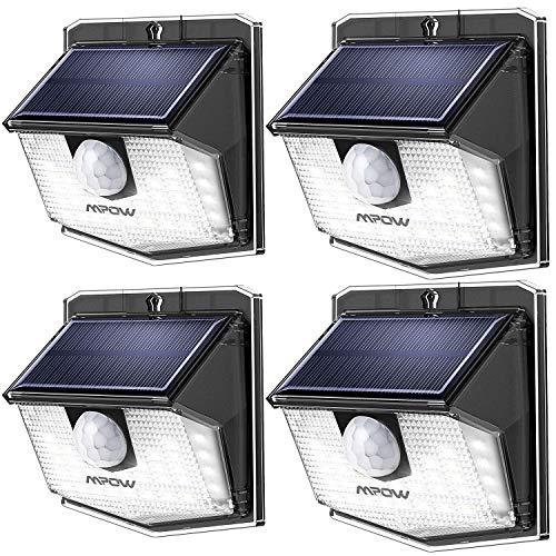 Mpow Solarlampen für außen - 30 Leds