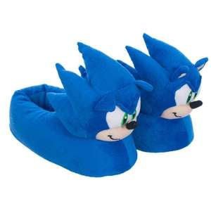 "(UK) Segas ""Sonic the Hedgehog""  3D Hausschuhe Slipper für 7.49€ @ play"