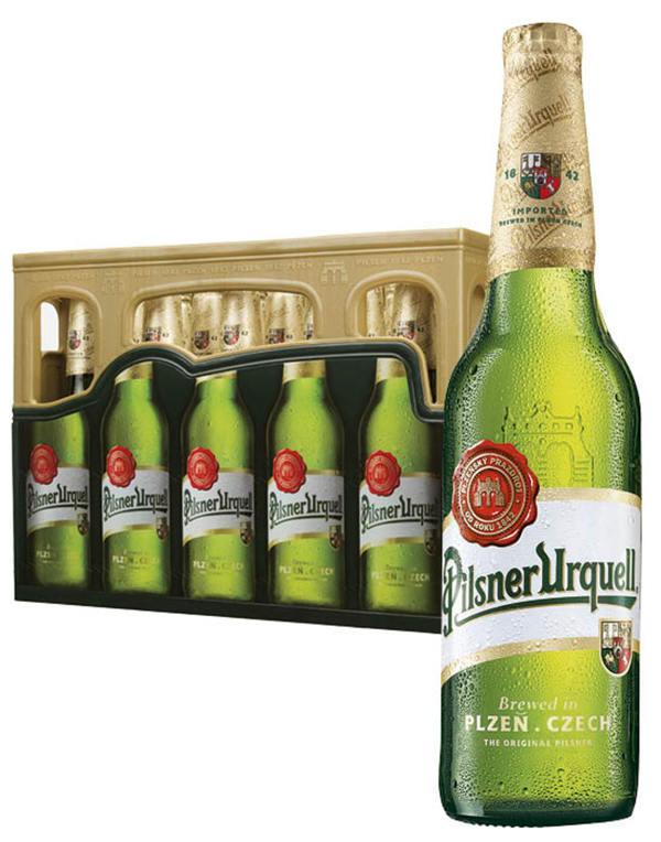 Pilsner Urquell Bier 20x0,5l bei [Kaufland ab 18.07.] für 10,80€ bzw. 12,80€ & bei [Real ab 15.07.] für 12,99€