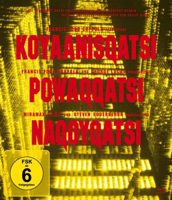 "Die Qatsi Trilogie (""Koyaanisqatsi"", ""Powaqqatsi"" & ""Nagoyqatsi"")"
