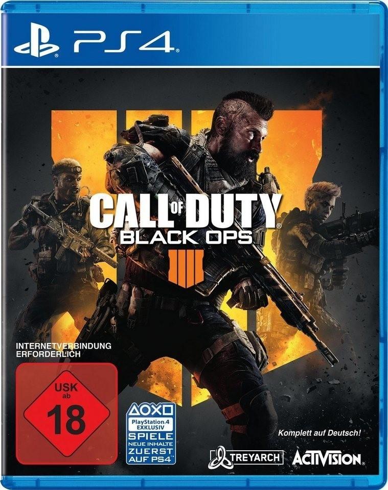 Call of Duty: Black Ops 4 (PS4 & XboxOne) für je 14,97€ (Amazon Prime)