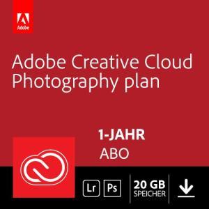 [Amazon Prime Day] Bestpreis: Adobe Creative Cloud Foto-Abo mit Photoshop, Lightroom und 20GB Cloudspeicher (1 Jahreslizenz)