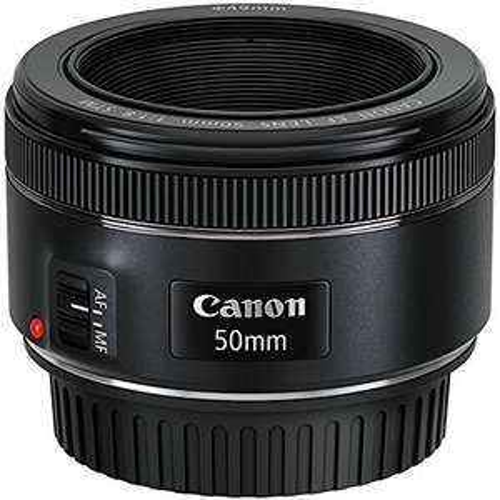 Canon EF 50mm f/1.8 STM Objektiv (schwarz) für 85€ [Prime Day]