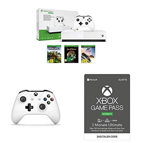 Xbox One S All Digital + 2. Controller + FIFA19 für 189€ [Amazon Prime Day]