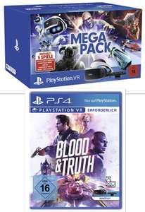 PlayStation VR Virtual Reality Mega Pack + Blood & Truth für 229,99€ - Prime Day