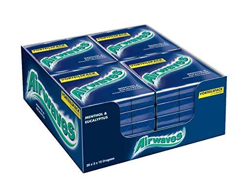 Amazon Prime Day: Airwaves Menthol & Eukalyptus, 3x10 Dragees, 20er Pack