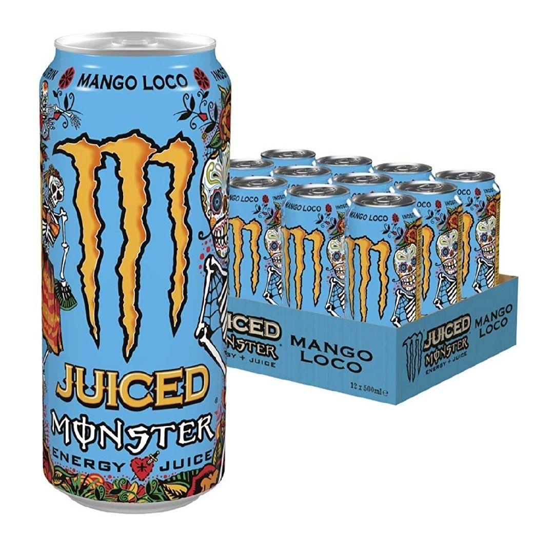 [Amazon Prime Day]  12x Monster Energy Mango Loco inklusive 3€ Pfand