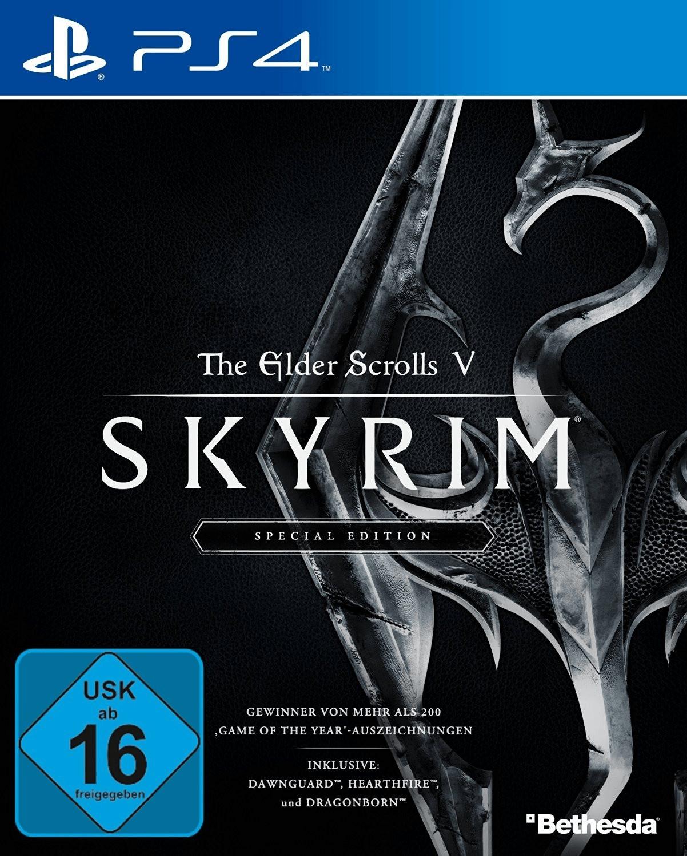 The Elder Scrolls V: Skyrim Special Edition (PS4 & Xbox One) für je 14,99€ (Amazon Prime)