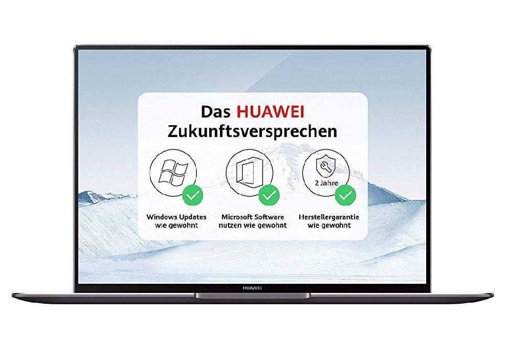 """[Amazon PRIME] Huawei Matebook X Pro 13.9"""" 3K 450cd/m² IPS Touch, i5-8250U, 8GB RAM, 256GB SSD, MX150, bel. Tastatur, TB3, Win10, 1.33kg"""