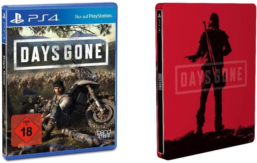 Days Gone PS4 für 34,99 Euro mit Steelbook
