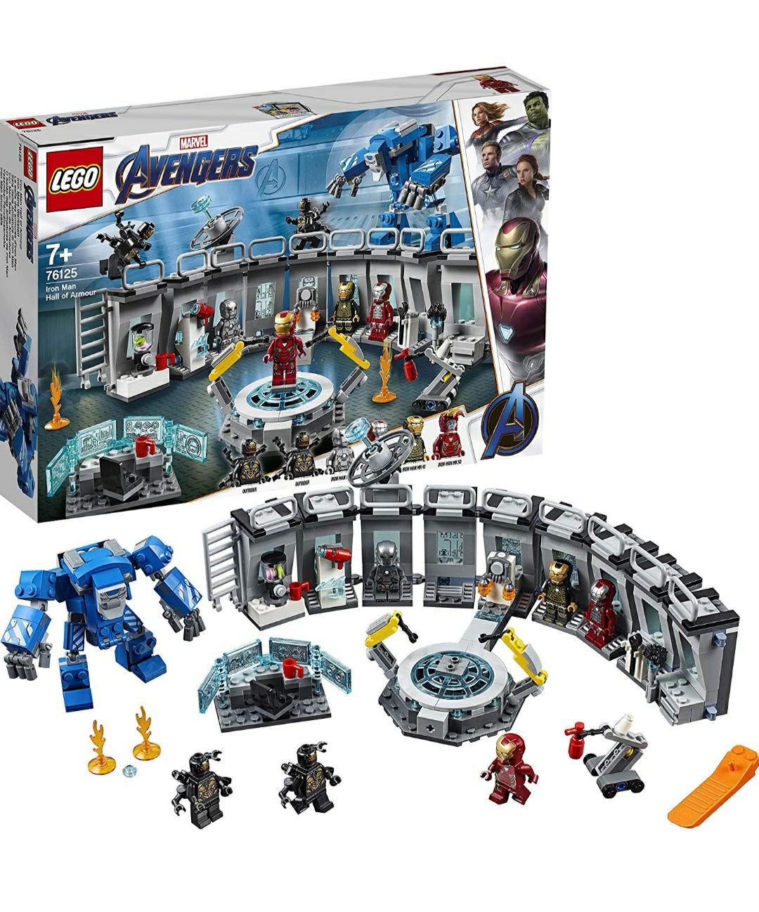 Lego Marvel Superheroes 76125 Iron Man's Werkstatt [Prime Day]