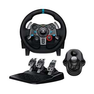 Logitech G29 bzw. G920 Racing Lenkrad + Driving Force Shifter Schalthebel