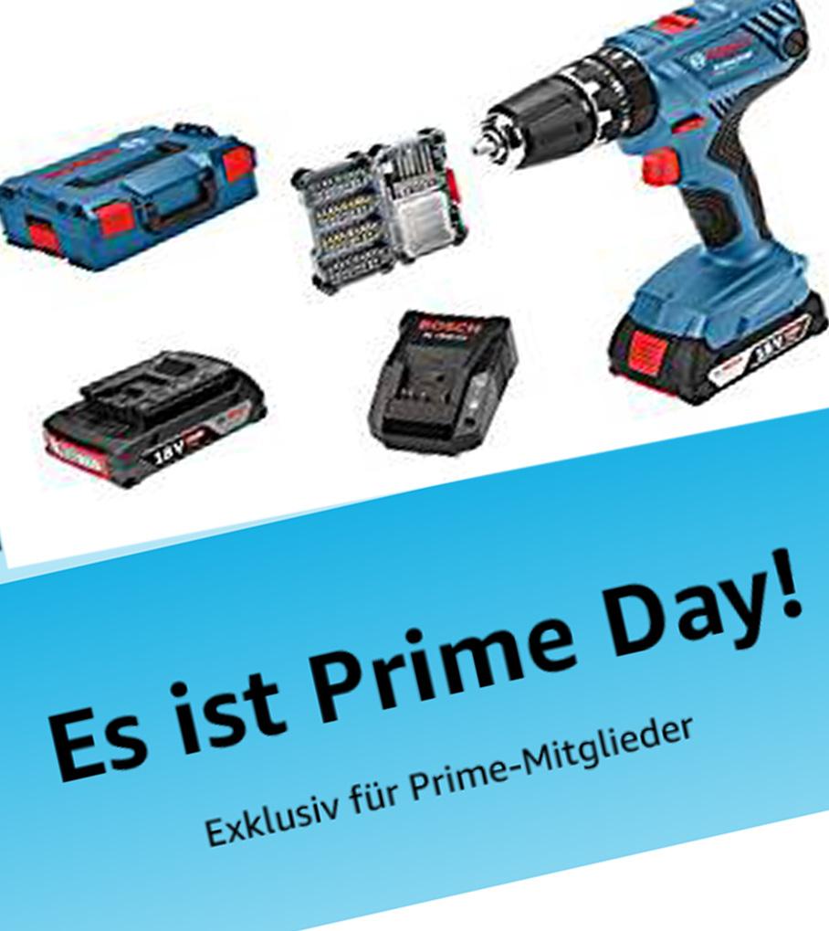 [PRIME DAY] Bosch Professional Werkzeug Sammeldeal u.a. GSR 12V-15, GLM 50 C, GKS 190, GWS 13-125 und vieles mehr!