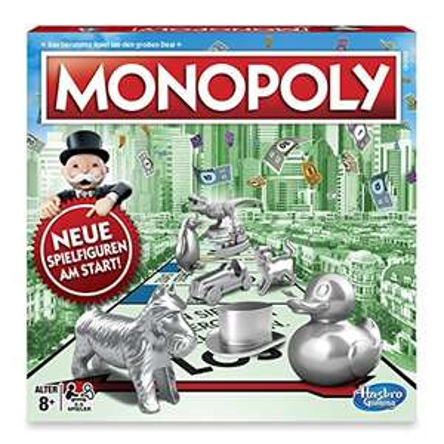 Hasbro Monopoly Classic (C1009) Gesellschaftsspiel für 14,99€ (Amazon Prime Day)