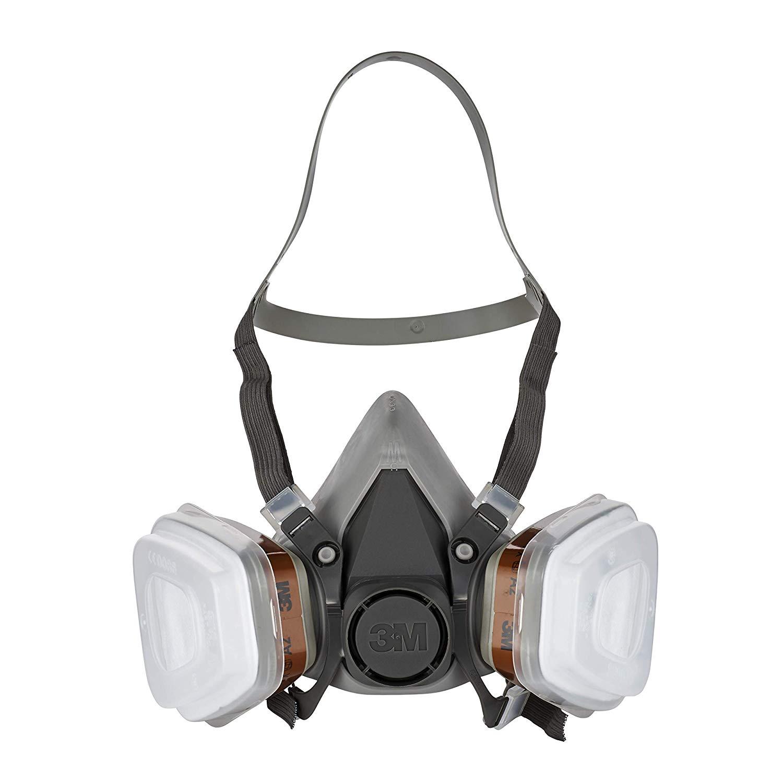 Sicherheitsausrüstung von 3M beim Prime Day- Mehrweg-Halbmaske 6002C (10,55€) Maske 8822C3 (2,04€) Bügelgehörschutz (1,34€)