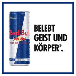 [PRIME] 120x Red Bull Energy Drink für 90,49€ / 50ct pro Dose (24x für 67ct, 48x für 59ct, 96x für 55ct)