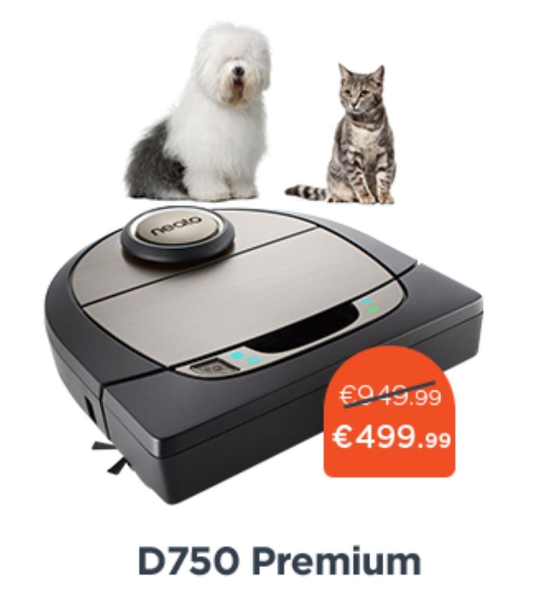 Prime Day Neato D750 Haustier Edition und weitere Neato Saugroboter