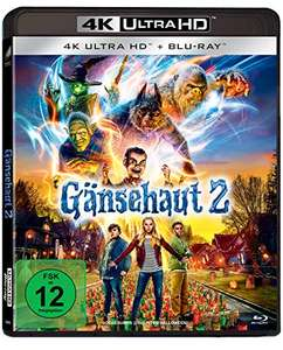 [Amazon] Gänsehaut 2 - 4K Ultra HD (4K Ultra HD Blu-ray + Blu-ray) für 19,97€ (Amazon Prime)