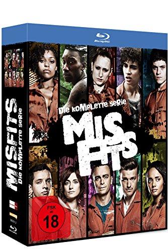 (Amazon Prime)  Misfits - Die komplette Serie [Blu-ray]